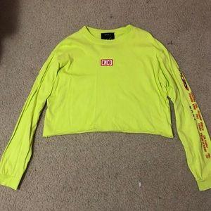 neon CNCO shirt